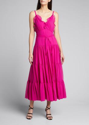 Alexis Tasha Tiered Ruffle Midi Dress