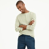 J.Crew Striped long-sleeve T-shirt in heavyweight jersey