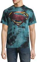 Novelty T-Shirts DC Justice League Superman Shield Graphic Tee
