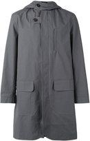 Oliver Spencer Sleaford hooded parka - men - Cotton/Polyester/Acetate - XL