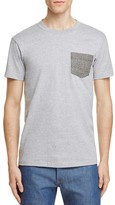 Naked & Famous Denim Contrast Pocket Tee
