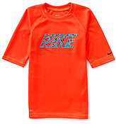Nike Big Boys 8-20 Convert UV Protection Short-Sleeve Tee