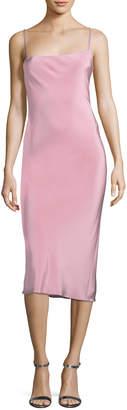 Cushnie Irina Strappy-Back Slip Dress