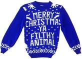 AEL Kids Childrens CHRISTMAS JUMPER Xmas Girls Boys Retro Rudolph Winter Sweater Delivery In 10Days