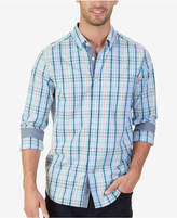 Nautica Men's Big & Tall Classic-Fit Coastal Plaid Shirt