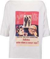 Stella Jean Printed stretch-jersey T-shirt