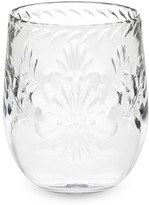 Williams-Sonoma Williams Sonoma Sonora Etched Stemless Wine Glasses, Set of 6