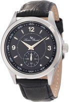 Lucien Piccard Men's 11606-01 Grande Casse Dial Leather Watch