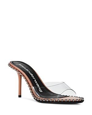 Alexander Wang Women's Nova 95 Studded High Heel Sandals