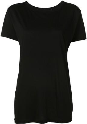 Helmut Lang open tie-back T-shirt