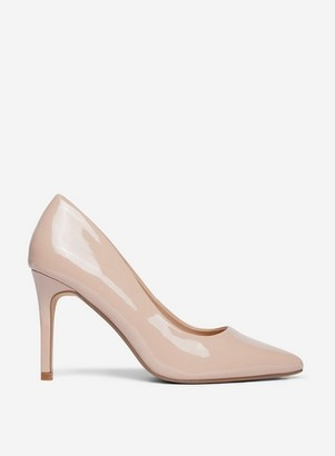Dorothy Perkins Womens Nude Pu 'Danielle' Court Shoes