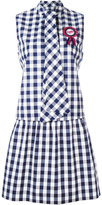 Love Moschino checked dress