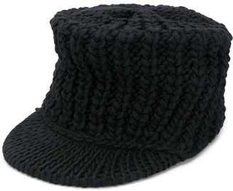 Yohji Yamamoto Knitted Baseball Cap