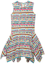 Petit Lem Printed Knit Dress (Toddler & Little Girls)