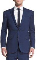 Ralph Lauren Black Label Anthony Basic Trim-Fit Wool Suit, Navy
