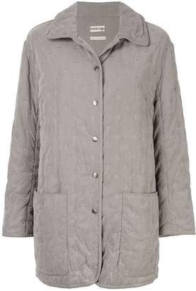 Hermes Pre-Owned Long Sleeve Coat