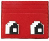 Les Petits Joueurs Women's Red Leather Card Holder.