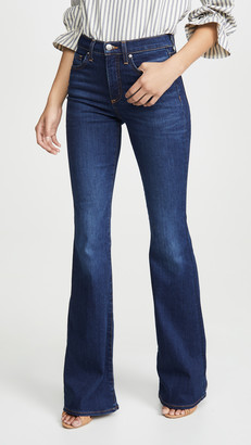 Veronica Beard Jeans Beverly High Rise Skinny Flare Jeans