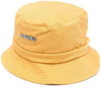 Jacquemus Logo Plaque Bucket Hat