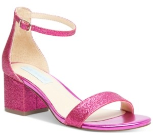 Betsey Johnson Miri Evening Sandals, Created for Macy's Women's Shoes