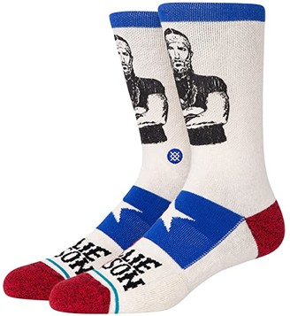 Stance Willie Nelson Eagle Crew (Off-White) Crew Cut Socks Shoes