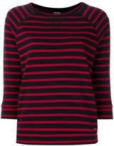 Woolrich striped sweatshirt