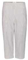 Vanessa Bruno Charif cropped cotton-blend trousers
