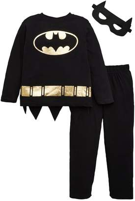 Batman Boys Pyjamas with Mask and Cape - Multi