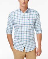 Tommy Hilfiger Men's Big & Tall Hammerstein Plaid Cotton Shirt