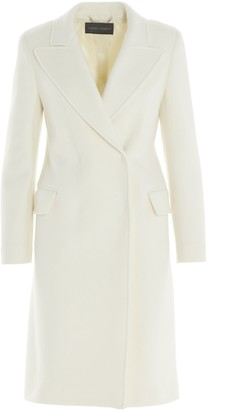 Alberta Ferretti Double Breasted Coat