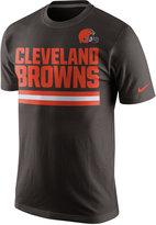 Nike Men's Cleveland Browns Team Stripe T-Shirt