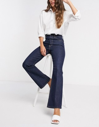Levi's Ribcage bootcut jeans in indigo