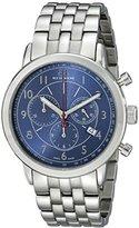 88 Rue du Rhone Men's 87WA120051 Stainless Steel Bracelet Watch with Blue Dial