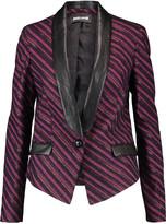 Just Cavalli Metallic cotton-blend blazer