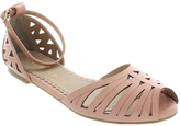 Restricted Peach Canada Sandal