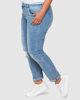 Forever New Lindsay Curve Girlfriend Jeans