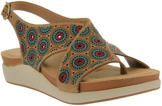 Spring Step L'Artiste by Leather Slingback Sandals - Erice