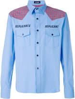 Raf Simons replicants logo shirt