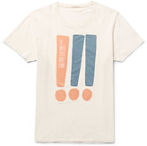 Nudie Jeans - Printed Organic Cotton-jersey T-shirt