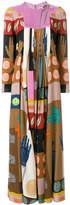 Valentino patterned maxi dress