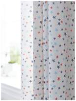 Bianca Cottonsoft Lined Star Curtains