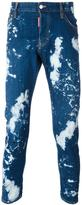 DSQUARED2 Skinny bleached jeans