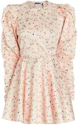 Rotate by Birger Christensen Pauline Puff Sleeve Mini Dress