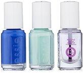 Essie Mini Trio Blue Kit, Butler Please/Mint Candy Apple/Second Shine Around, 3 x 5 ml/ .17 Fl. Oz.