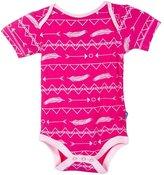 Kickee Pants Little Girls Short Sleeve Bodysuit One- piece