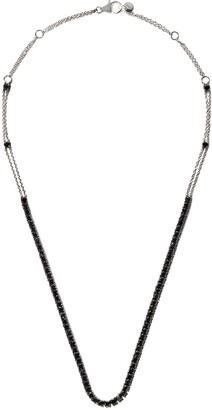 Alinka 18kt white gold RIVIERA diamond necklace