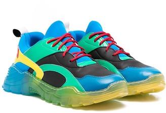 Stella McCartney Kids TEEN colour-block sneakers