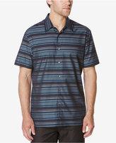 Perry Ellis Men's Multi-Color Striped Shirt