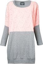 Moschino contrast sweatshirt - women - Cotton - 42