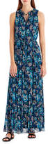GREY Jason Wu Floral-Print Sleeveless Maxi Dress